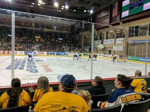 Erie Insurance Arena, Bereich: 120, Reihe: D, Platz: 4
