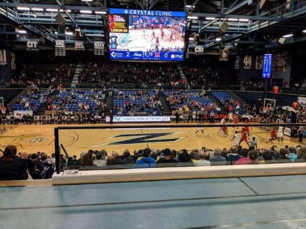James A. Rhodes Arena, Abschnitt: 2B, Reihe: C, Platz: 4