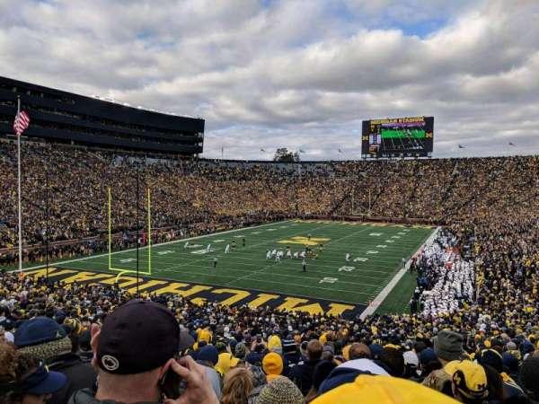 Michigan Stadium, Abschnitt: 9, Reihe: 51, Platz: 5