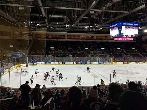 Erie Insurance Arena, Bereich: 217, Reihe: U, Platz: 10