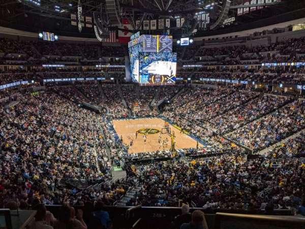 Ball Arena, Bereich: 248, Reihe: 1, Platz: 13