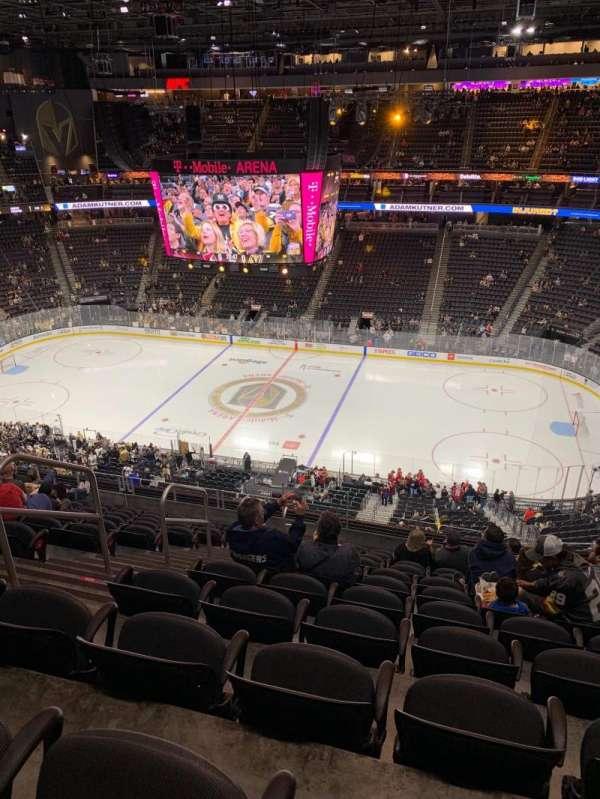T-Mobile Arena, Abschnitt: 207, Reihe: L, Platz: 5