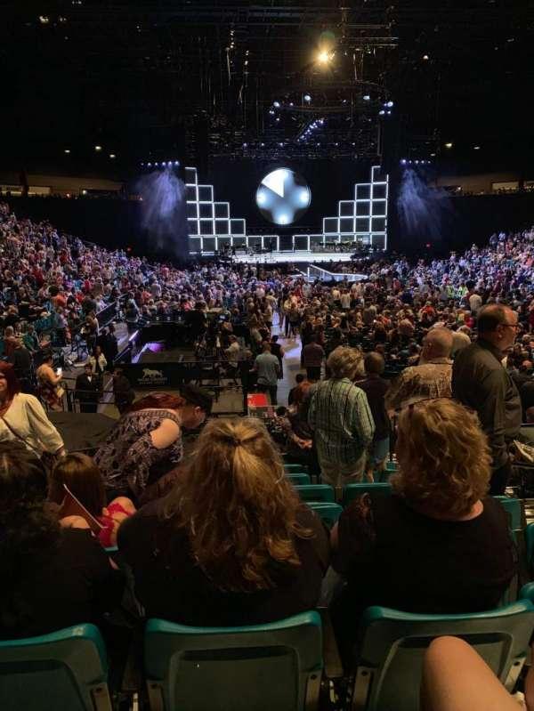 MGM Grand Garden Arena, Abschnitt: 3, Reihe: N, Platz: 4