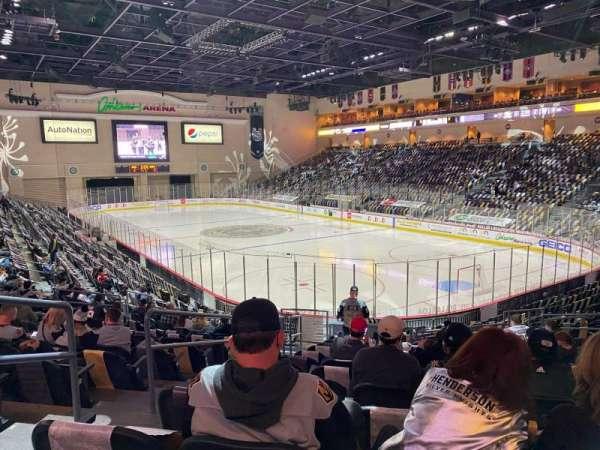 Orleans Arena, Bereich: 112, Reihe: N, Platz: 14