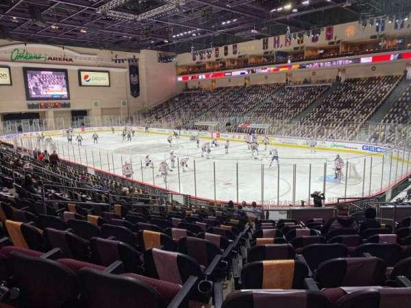 Orleans Arena, Bereich: 113, Reihe: L, Platz: 7