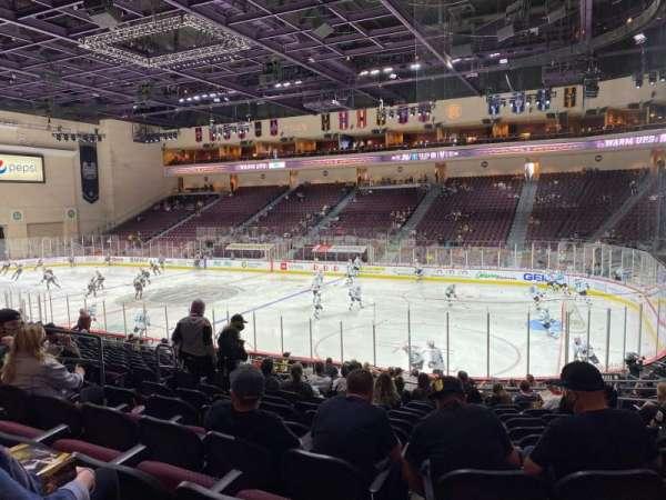 Orleans Arena, Bereich: 114, Reihe: M, Platz: 8