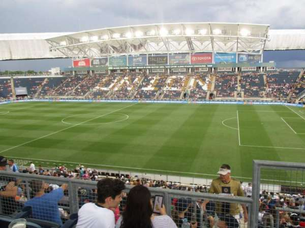talen energy stadium, Abschnitt: 304, Reihe: 2, Platz: 1