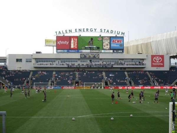 talen energy stadium, Abschnitt: 139, Reihe: 1, Platz: 1