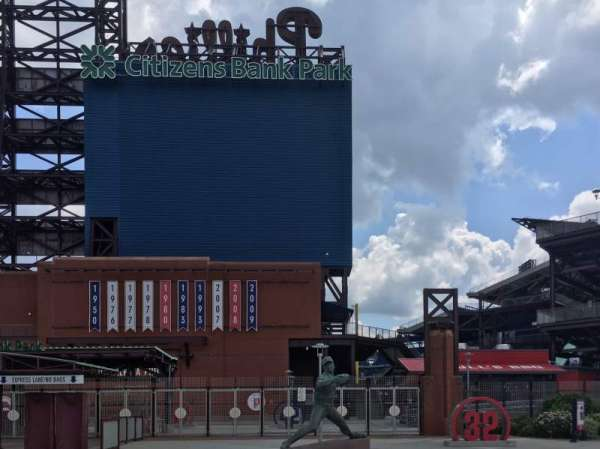 Citizens Bank Park, Abschnitt: Left Field Gate