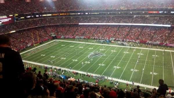 Georgia Dome, Abschnitt: 319, Reihe: 17, Platz: 22