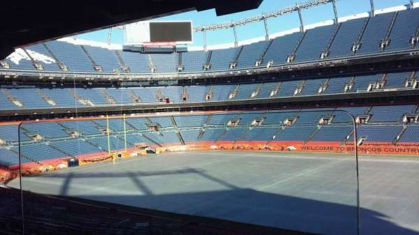 Broncos Stadium at Mile High, Abschnitt: Suite