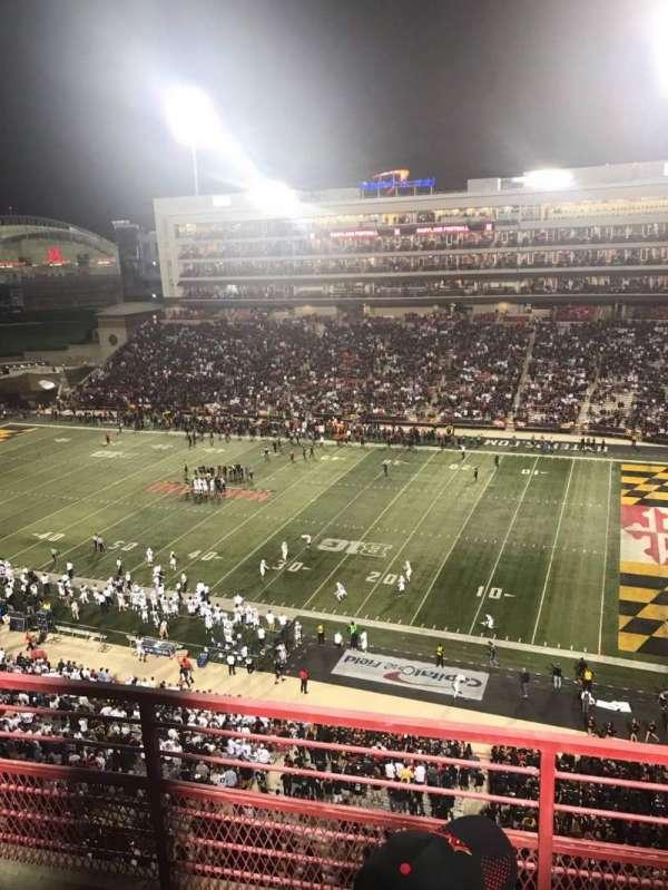 Maryland Stadium, Abschnitt: 310, Reihe: C, Platz: 10