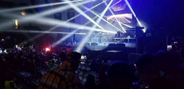 UMBC Event Center, Abschnitt: 108, Reihe: E, Platz: 21