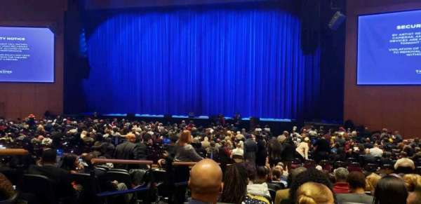 The Theater at MGM National Harbor, Abschnitt: 102, Reihe: K, Platz: 12
