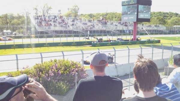 Circuit Gilles Villeneuve, Abschnitt: GA
