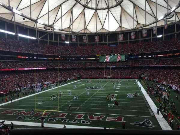 Georgia Dome, Abschnitt: 233, Reihe: 1, Platz: 12