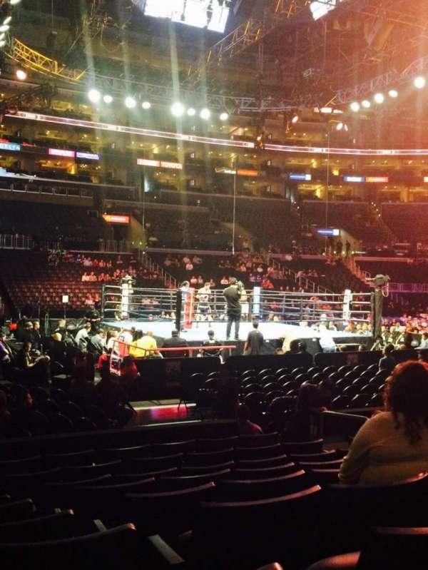 Staples Center, Abschnitt: 102, Reihe: 9, Platz: 8