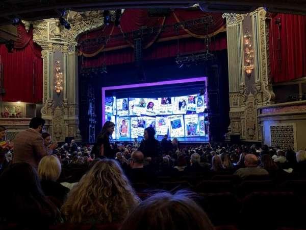 James M. Nederlander Theatre, Abschnitt: Orchestra R, Reihe: X, Platz: 10, 12, 14, 16