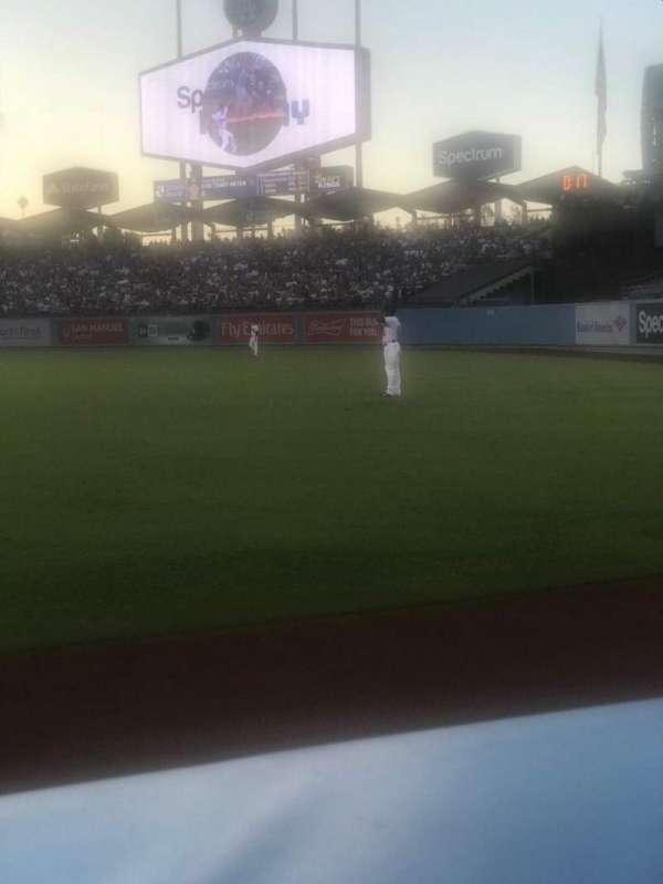 Dodger Stadium, Abschnitt: 48FD, Reihe: AA, Platz: 1
