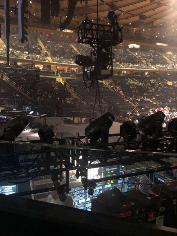 Madison Square Garden, Abschnitt: 114, Reihe: 6, Platz: 6