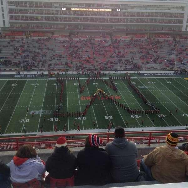 Maryland Stadium, Abschnitt: 305, Reihe: N, Platz: 13