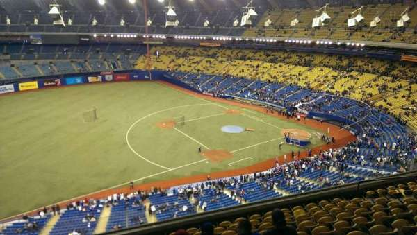 Olympic Stadium, Montreal, Abschnitt: 426, Reihe: A, Platz: 5