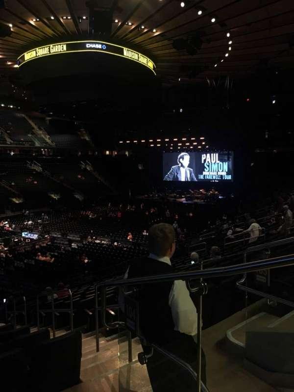 Madison Square Garden, Abschnitt: 104, Reihe: 20, Platz: 22