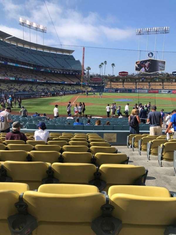 Dodger Stadium, Abschnitt: 10FD, Reihe: L, Platz: 10