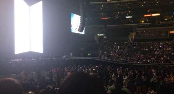 Staples Center, Abschnitt: 112, Reihe: 11, Platz: 3