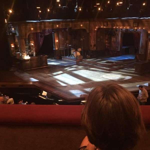 Bernard B. Jacobs Theatre, Abschnitt: Mezzanine, Reihe: B, Platz: 105
