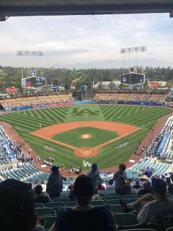 Dodger Stadium, Abschnitt: 1RS, Reihe: U, Platz: 13