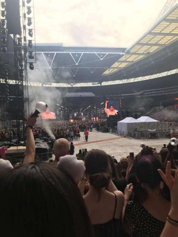 Wembley Stadium, Abschnitt: 113, Reihe: 14, Platz: 32