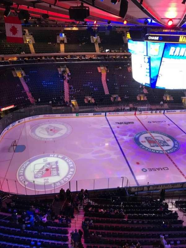 Madison Square Garden, Bereich: 312, Reihe: 1, Platz: 1