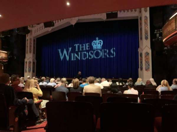 Princess of Wales Theatre, Bereich: Stalls, Reihe: M, Platz: 11