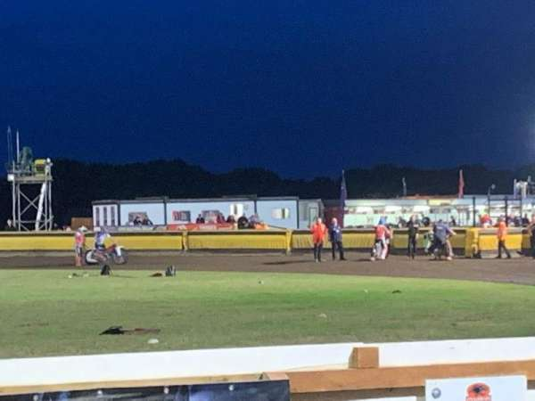 Peterborough Panthers Speedway, Bereich: Main Straight Covered Stand, Reihe: 2, Platz: Open