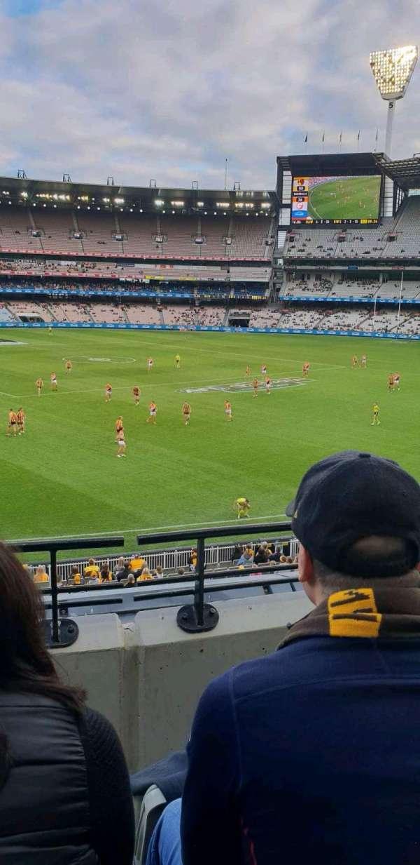 Melbourne Cricket Ground, Abschnitt: n51, Reihe: c, Platz: 22