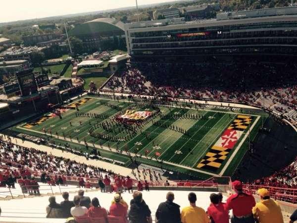 Maryland Stadium, Abschnitt: 312, Reihe: KK, Platz: 27