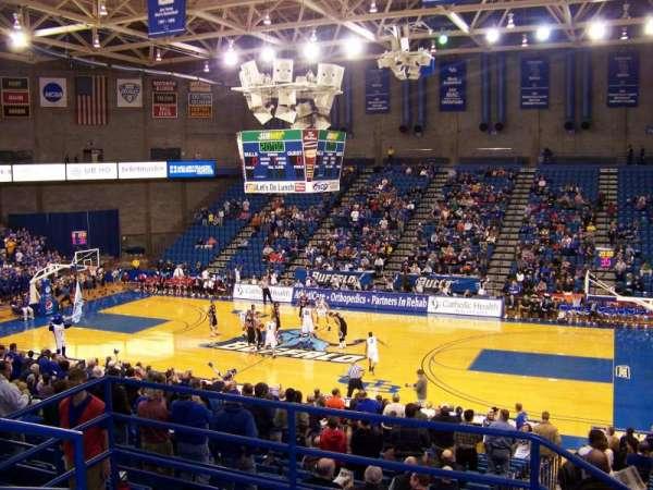 Alumni Arena (University at Buffalo), Abschnitt: 202, Reihe: D, Platz: 14