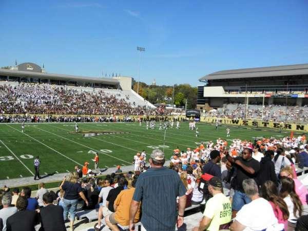Waldo Stadium, Abschnitt: F, Reihe: 5, Platz: 25