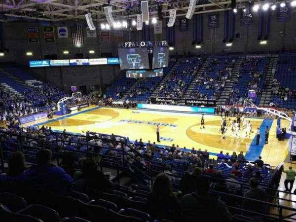 Alumni Arena (University at Buffalo), Abschnitt: 202, Reihe: G, Platz: 5