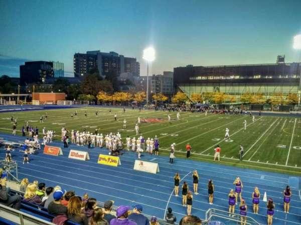 Varsity Stadium, Abschnitt: D, Reihe: 10, Platz: 22