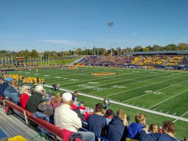 Richardson Memorial Stadium, Abschnitt: 118, Reihe: SRO