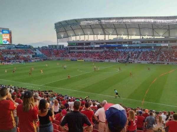 Rio Tinto Stadium, Abschnitt: 36, Reihe: Z, Platz: 5