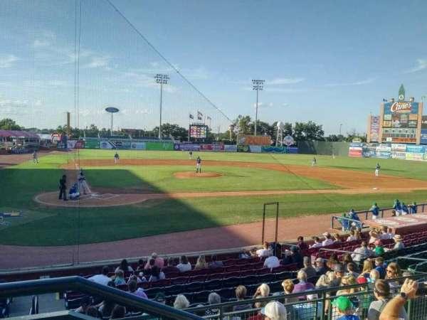 Whitaker Bank Ballpark, Abschnitt: 204, Reihe: 5, Platz: 1