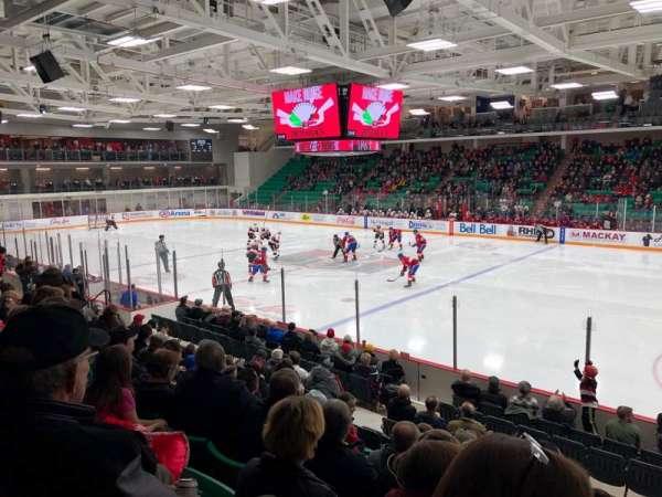 CAA Arena, Abschnitt: 106, Reihe: 12, Platz: 8