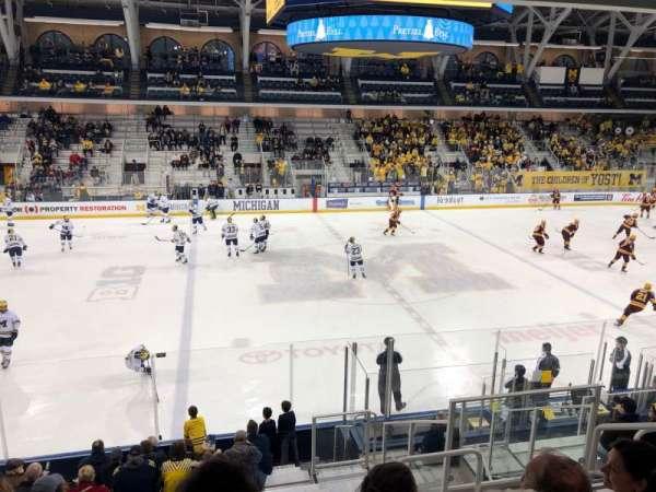 Yost Ice Arena, Abschnitt: 3, Reihe: 15, Platz: 5