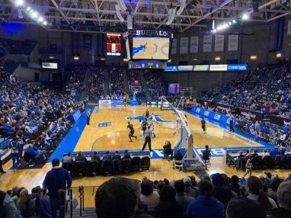 Alumni Arena (University at Buffalo), Abschnitt: 119, Reihe: O, Platz: 8