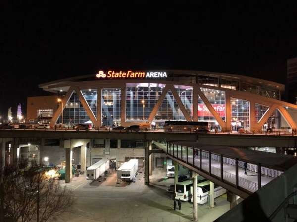State Farm Arena, Abschnitt: Exterior