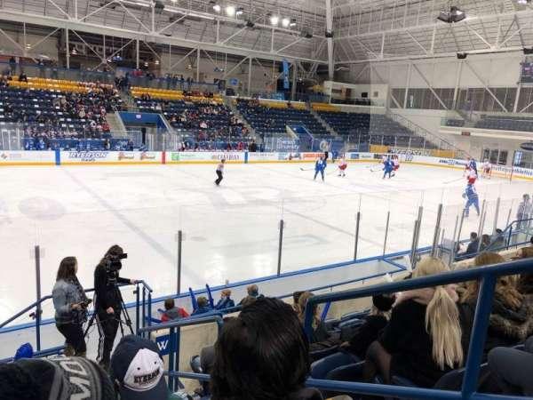 Mattamy Athletic Centre at the Gardens, Abschnitt: W6, Reihe: G, Platz: 2