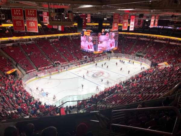 PNC Arena, Abschnitt: 329, Reihe: J, Platz: 2